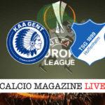 Gent Hoffenheim cronaca diretta live risultato in tempo reale