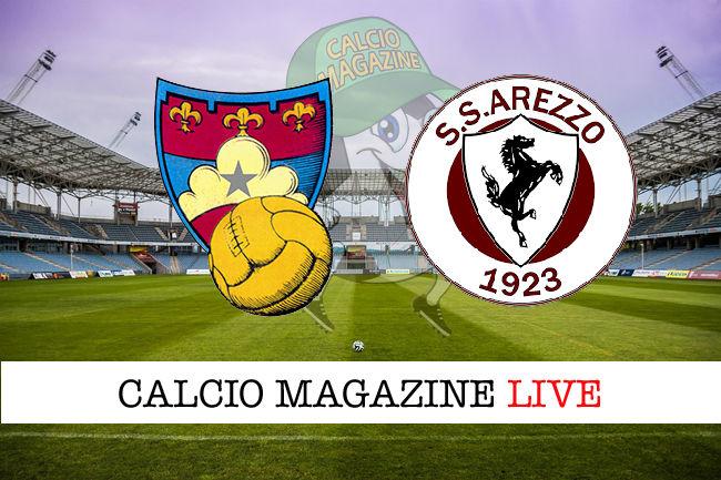 Gubbio Arezzo cronaca diretta live risultato in tempo reale