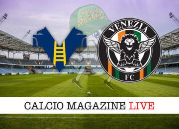 Hellas Verona Venezia cronaca diretta live risultato in tempo reale