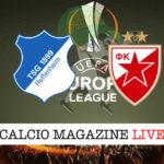 Hoffenheim Stella Rossa cronaca diretta live risultato in tempo reale