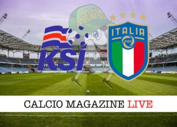 Islanda Italia cronaca diretta live risultato in tempo reale
