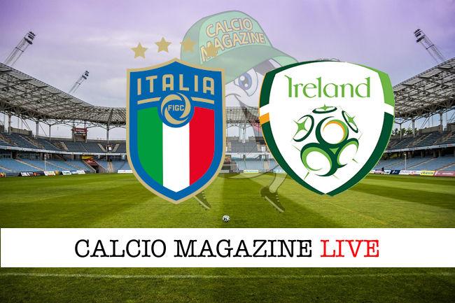 Italia Irlanda cronaca diretta live risultato in tempo reale