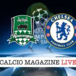 Krasnodar Chelsea cronaca diretta live risultato in tempo reale