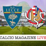 Lecce Cremonese cronaca diretta live risultato in tempo reale