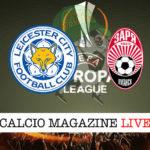 Leicester Zorya cronaca diretta live risultato in tempo reale
