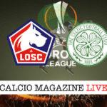 Lille Celtic cronaca diretta live risultato in tempo reale