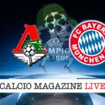 Lokomotiv Mosca Bayern Monaco cronaca diretta live risultato in tempo reale