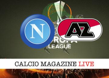 Napoli AZ Alkmaar cronaca diretta live risultato in tempo reale