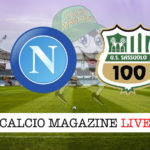 Napoli Sassuolo cronaca diretta live risultato in tempo reale