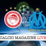 Olympiakos Marsiglia cronaca diretta live risultato in tempo reale