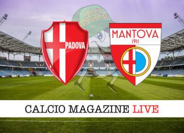 Padova Mantova cronaca diretta live risultato in tempo reale
