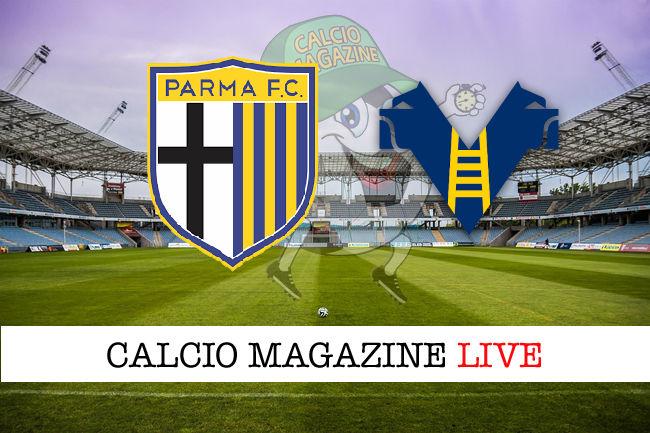 Parma Hellas Verona cronaca diretta live risultato in tempo reale