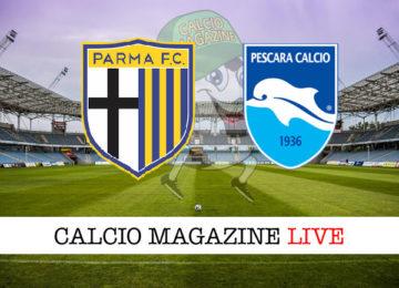 Parma Pescara cronaca diretta live risultato in tempo reale