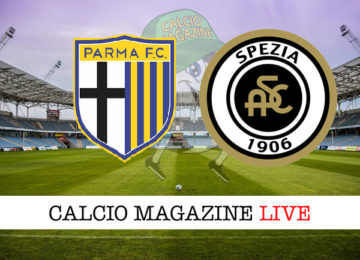 Parma Spezia cronaca diretta live risultato in tempo reale
