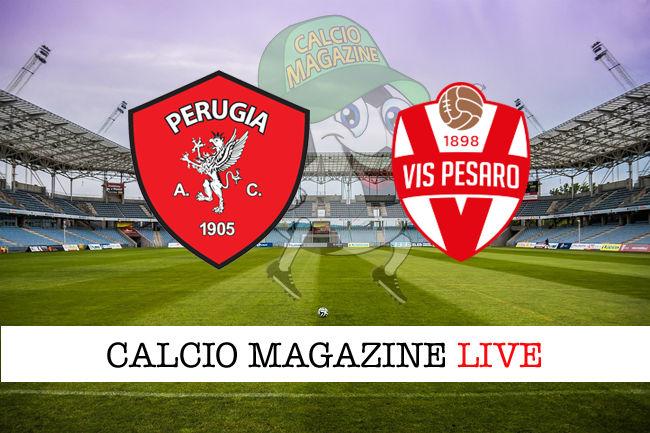 Perugia Vis Pesaro cronaca diretta live risultato in tempo reale