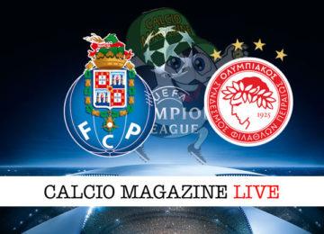 Porto Olympiakos cronaca diretta live risultato in tempo reale