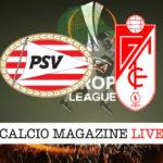 PSV Granada cronaca diretta live risultato in tempo reale