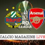 Rapid Vienna Arsenal cronaca diretta live risultato in tempo reale