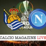 Real Sociedad Napoli cronaca diretta live risultato in tempo reale