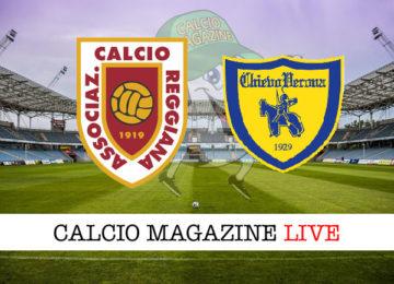 Reggiana Chievo Verona cronaca diretta live risultato in tempo reale