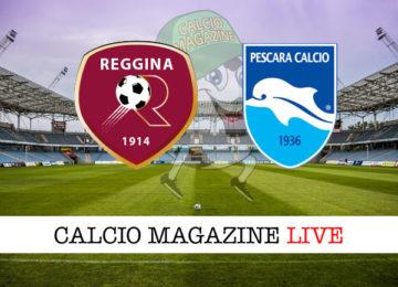 Reggina Pescara cronaca diretta live risultato in tempo reale