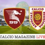 Salernitana Reggiana cronaca diretta live risultato in tempo reale