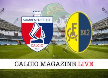 Sambenedettese Modena cronaca diretta live risultato in tempo reale