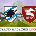 Sampdoria Salernitana cronaca diretta live risultato in tempo reale