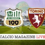 Sassuolo Torino cronaca diretta live risultato in tempo reale