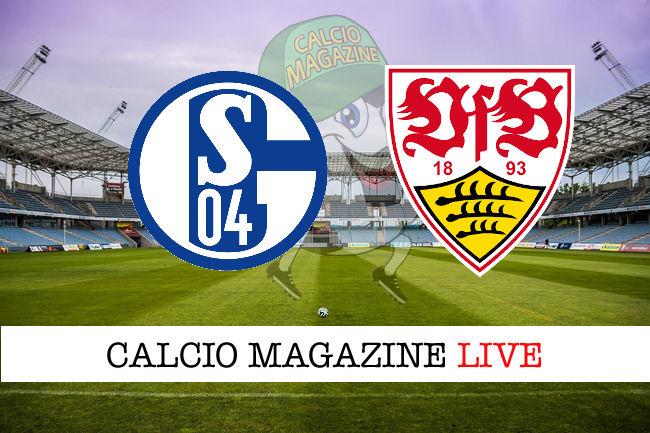 Schalke04 Stoccarda cronaca diretta live risultato in tempo reale
