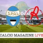 Spal Vicenza cronaca diretta live risultato in tempo reale