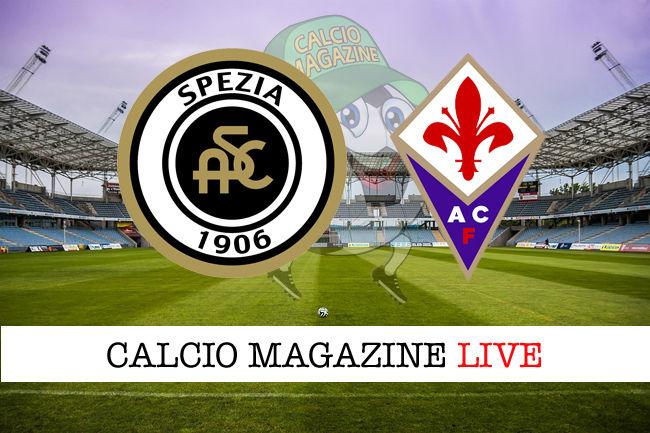 Spezia Fiorentina cronaca diretta live risultato in tempo reale