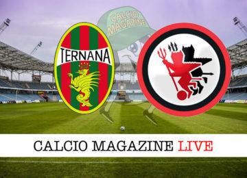 Ternana Foggia cronaca diretta live risultato in tempo reale