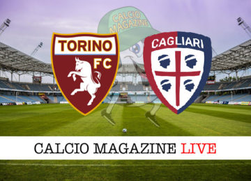 Torino Cagliari cronaca diretta live risultato in tempo reale