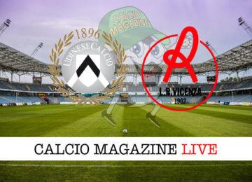 Udinese Vicenza cronaca diretta live risultato in tempo reale