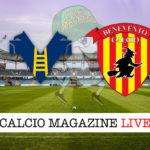 Verona Benevento cronaca diretta live risultato in tempo reale