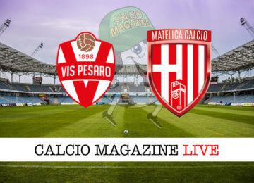 Vis Pesaro Matelica cronaca diretta live risultato in tempo reale
