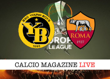 Young Boys Roma cronaca diretta live risultato in tempo reale