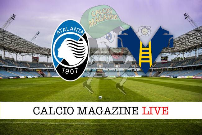 Atalanta Hellas Verona cronaca diretta live risultato in tempo reale
