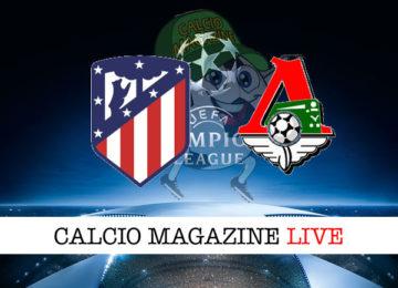 Atletico Madrid Lokomotiv Mosca cronaca diretta live risultato in tempo reale