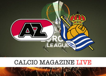 AZ Alkmaar Real Sociedad cronaca diretta live risultato in tempo reale