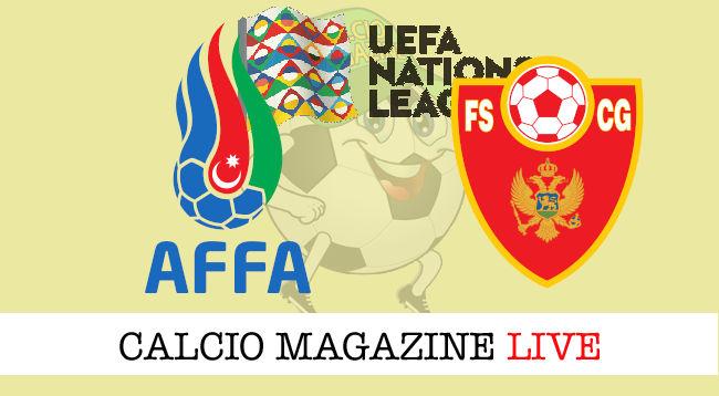 Azerbaijan Montenegro cronaca diretta live risultato in tempo reale