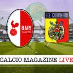 Bari Catanzaro cronaca diretta live risultato in tempo reale