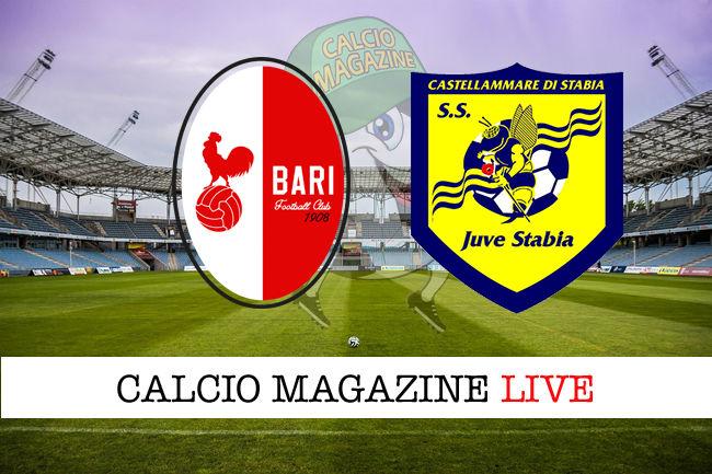 Bari Juve Stabia cronaca diretta live risultato in tempo reale