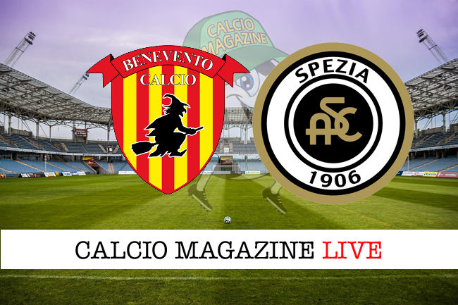 Benevento Spezia cronaca diretta live risultato in tempo reale
