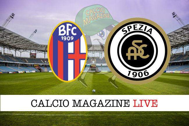 Bologna Spezia cronaca diretta live risultato in tempo reale
