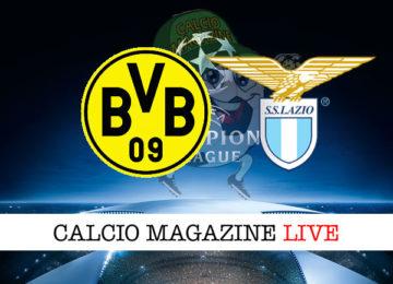 Borussia Dortmund Lazio cronaca diretta live risultato in tempo reale