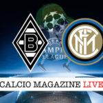 Borussia M'Gladbach Inter cronaca diretta live risultato in tempo reale