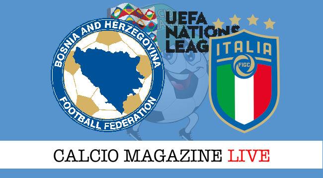 Bosnia Italia cronaca diretta live risultato in tempo reale