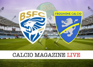 Brescia Frosinone cronaca diretta live risultato in tempo reale